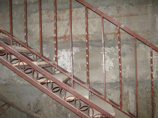 Метал перила для лестницы своими руками 160