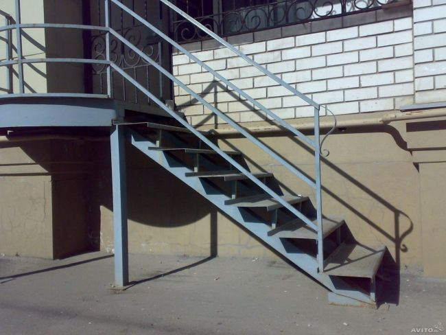 Как сделать входную лестницу