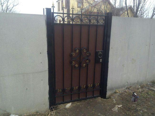 Производство металлических ворот комплекты для монтажа откатных ворот